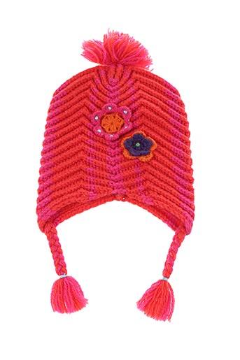 Bonnet orange CATIMINI pour fille