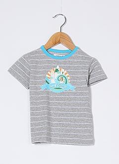 T-shirt manches courtes gris NOPPIES pour garçon