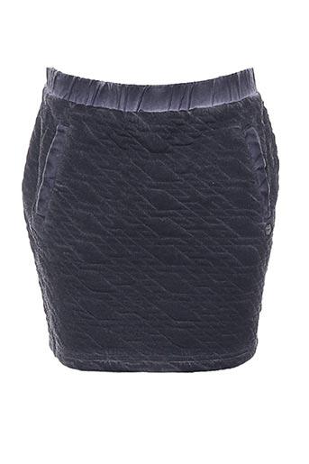 Jupe courte gris BECKARO pour fille