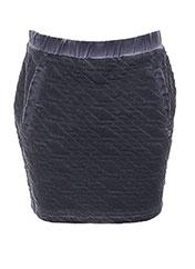 Jupe courte gris BECKARO pour fille seconde vue