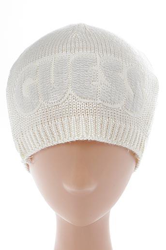 Bonnet beige GUESS pour fille
