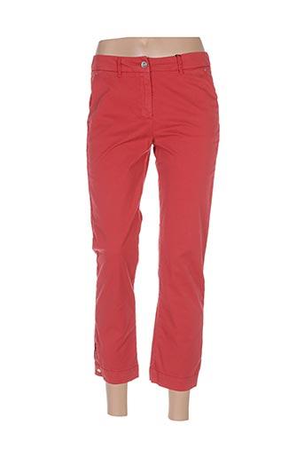Pantalon 7/8 rouge COP COPINE pour femme