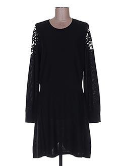 Robe pull noir SONIA RYKIEL pour femme