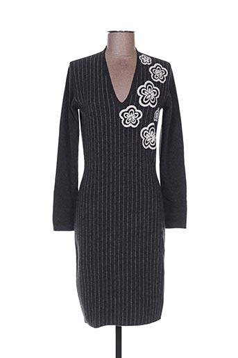 Robe pull gris D.EXTERIOR pour femme