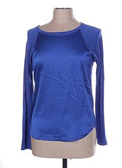 T-shirt manches longues bleu RALPH LAUREN pour femme