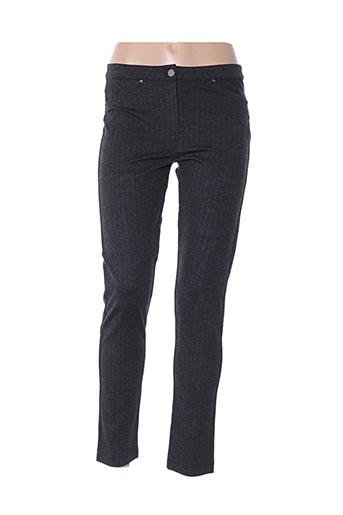 Pantalon casual gris D.EXTERIOR pour femme