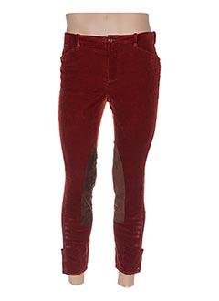 Pantalon 7/8 marron RALPH LAUREN pour femme