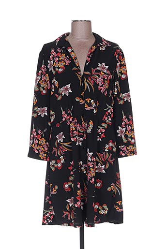 Robe courte noir F&8 pour femme
