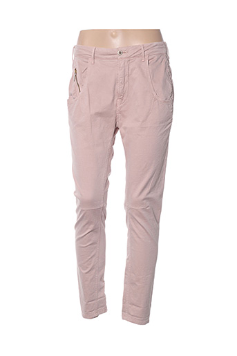 Pantalon casual rose MANILA GRACE pour femme