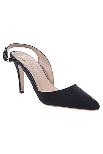 Escarpins noir CASSIS COTE D'AZUR pour femme