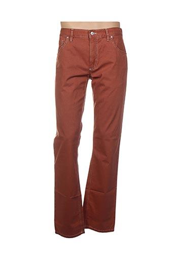 Pantalon casual marron ALBERTO pour homme