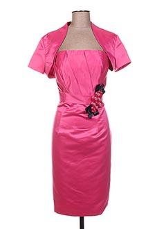 Veste/robe rose L/O pour femme