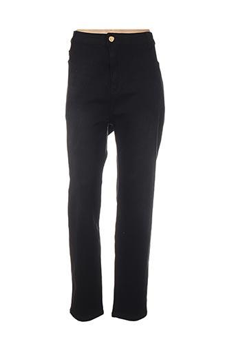 Pantalon casual noir H-3 pour femme