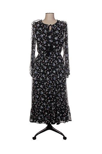 Robe longue noir FEELHOO pour femme