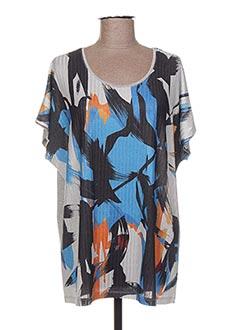 T-shirt manches courtes gris ALAIN MURATI pour femme