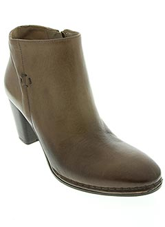 Bottines/Boots marron ALBERTO FERMANI pour femme