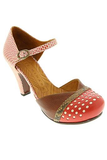 CHIE MIHARA Chaussures Escarpins de couleur rouge en soldes pas cher 1391305 rouge0 Modz