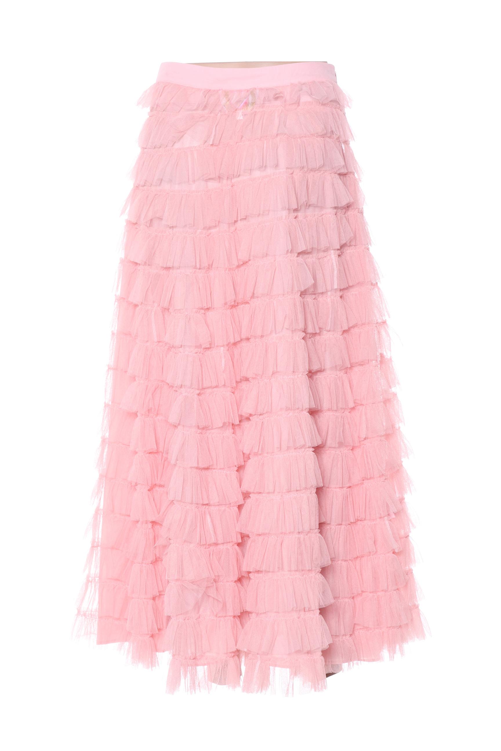 Lm Lulu Jupes Longues Femme De Couleur Rose En Soldes Pas Cher 1387195-rose00