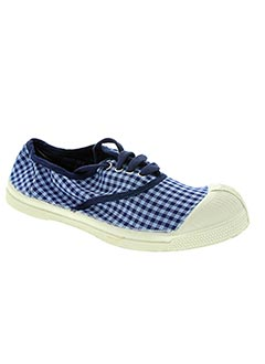 Baskets bleu BENSIMON pour fille