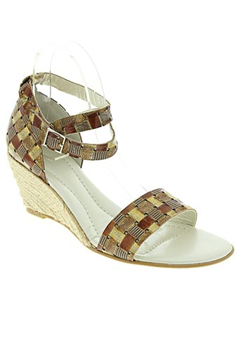 Sandales/Nu pieds marron IPPON STYL pour femme