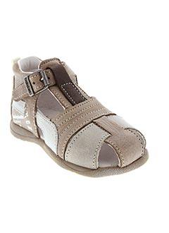 Sandales/Nu pieds marron BABYBOTTE pour garçon