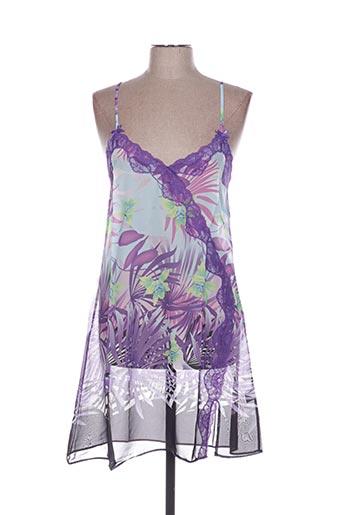 Nuisette/combinette violet ROSE POMME pour femme
