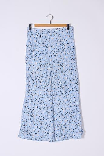 Jupe longue bleu SANS MARQUE pour femme