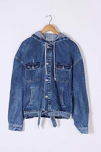 Veste en jean bleu NADEOO pour homme