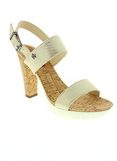 Sandales/Nu pieds beige REPLAY pour femme
