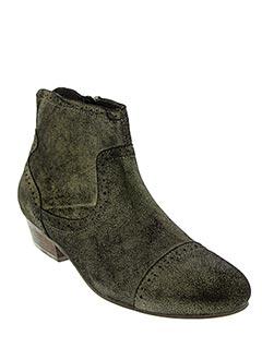 Bottines/Boots jaune ONE STEP pour femme