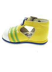 Sandales/Nu pieds jaune BOPY pour garçon seconde vue