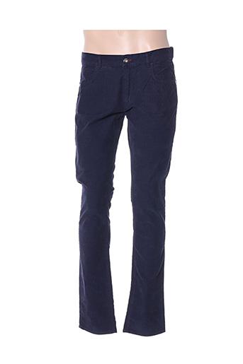 Pantalon casual bleu TRUSSARDI JEANS pour homme