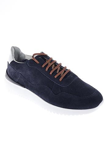 Baskets bleu D'ACQUASPARTA pour homme