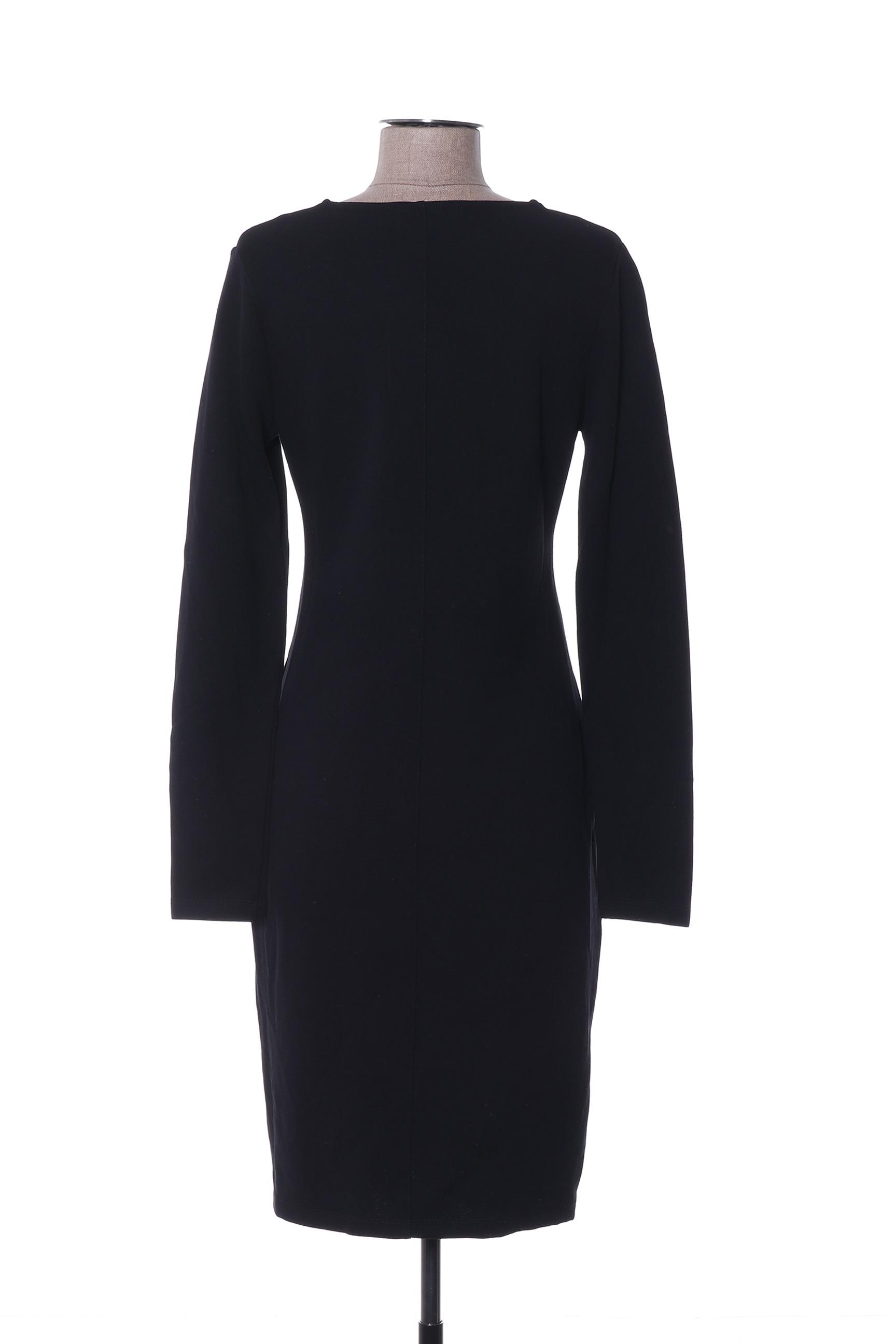 Viccio Barcelona Robes Mi Longues Femme De Couleur Noir En Soldes Pas Cher 1398877-noir00