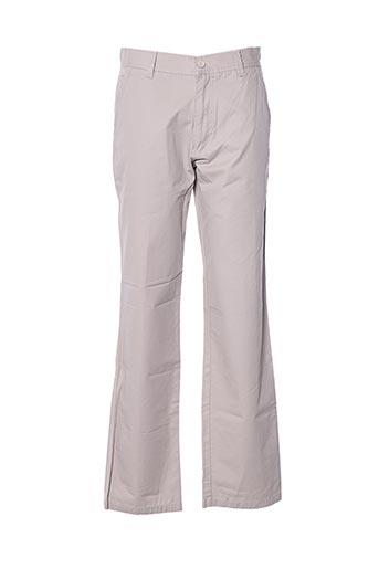 Pantalon casual beige FORECAST pour homme