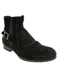 Bottines/Boots noir GOLDMUD pour homme