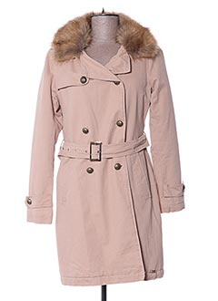 Manteau long beige GAUDI pour femme