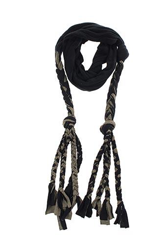 Echarpe noir BY ZOE pour femme