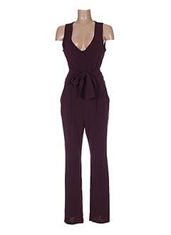 Combi-pantalon violet LA FEE MARABOUTEE pour femme