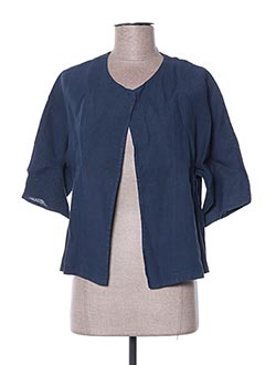 Veste casual bleu LA FEE MARABOUTEE pour femme
