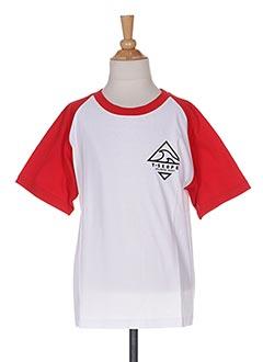 T-shirt manches courtes rouge T-SKOPE pour enfant