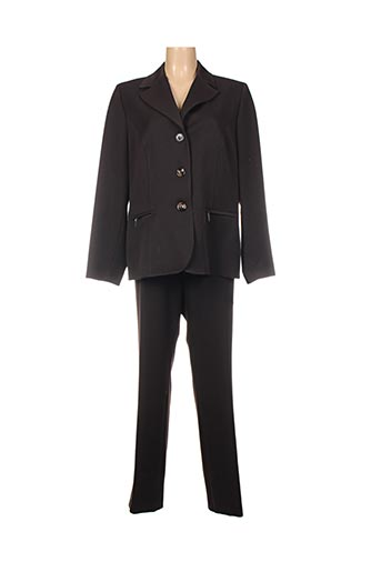 Veste/pantalon marron CAROLE RICHARD pour femme