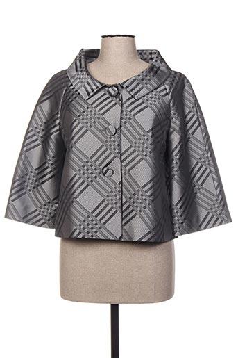 Veste chic / Blazer gris CARAMELO pour femme