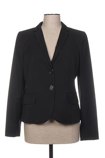 Veste chic / Blazer noir CARAMELO pour femme