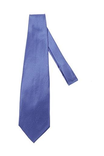 Cravate bleu ISADOR pour homme