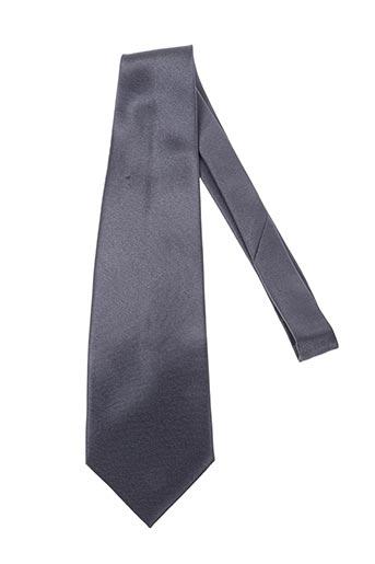 Cravate gris ISADOR pour homme