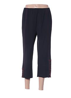 Pantalon 7/8 noir FRANCOISE DE FRANCE pour femme