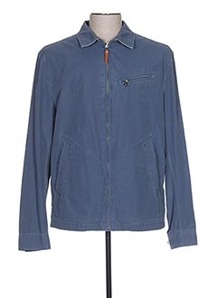 Veste casual bleu PETER COFOX pour homme