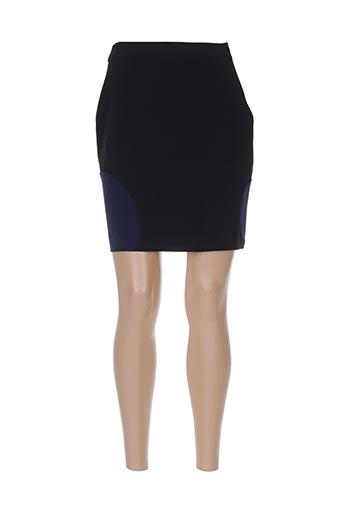 Jupe courte noir AKELA KEY pour femme