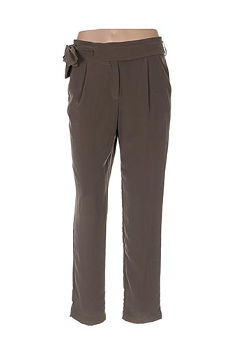 Pantalon casual vert AXARA pour femme